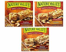 Nature Valley Sweet & Salty Nut Granola Bar Snack 4 Boxes ~ 24 Bars