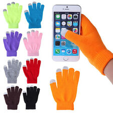 New Unisex Smartphone Texting Stretch Winter Knit Magic Touch Screen Gloves