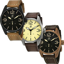 Brooklyn Watch Company Lafayette Swiss Movement Mens Watch