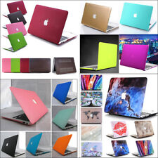 """Rubberized Matte Hard Case Cover for Apple Macbook Air White Pro 11"""" 13"""" 15""""inch"""