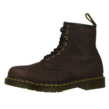 DR DOC MARTENS 1460 BOOTS 8-LOCH LEDER STIEFEL BARK GRIZZLY BRAUN 11822202