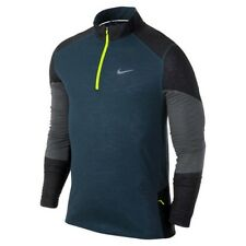 New with tag Nike Men Trail Kiger 1/2 Half Zip Running Top Shirt 620100-483