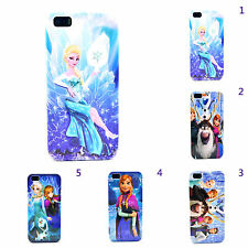 Frozen Elsa Olaf Snowman Design Patern Hard Back Case Cover For iPhone 4/4s 5/5s