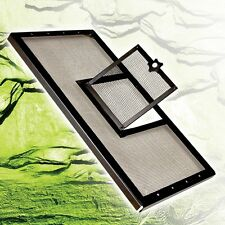 Zilla Fresh Air Reptile Terrarium Screen Covers with hinged door
