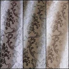 Boheme Damask Designer Curtain Fabric By Iliv-3 Colours 142-Wide -Free UK Post