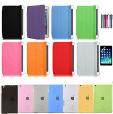 Magnetic Smart Cover Skin + Hard Back Case Stand for Apple iPad Mini iPad Air 2