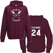 BEACON HILLS LACROSSE STILINSKI MCCALL LAHEY HOODED NEW ALL SIZES TEEN WOLF