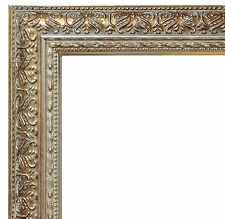 Antique Silver Frame #A2 / Photo / Poster / Diploma / Wedding / Family Portrait