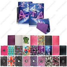 Printed Leather Case Cover Smart Stand For Apple iPad / Mini / Air + Free Stylus