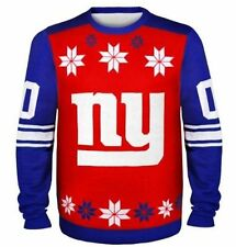 New York Giants Ugly Sweater - Almost Right - NEW NFL Christmas Holiday