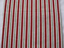 New $39 Waverly Fabric Table cloth Cotton Christmas Red White Green 60 52 70 84""