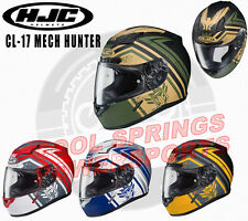 HJC CL-17 Mech Hunter Helmet SNELL DOT