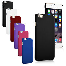 "For iPhone 6 Plus 5.5"" Ultra Thin Slim Matte Hard Snap On Rubberized Cover Case"
