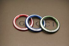 New Gucci  Diamond Cut Bezels - Red. Green and Blue - Buy one -  Buy them all