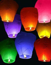2pcs Colors Chinese KongMing Sky Fire Lanterns For Party Birthday Wedding Wish
