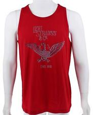 NEW NWT LEVI'S MEN'S CLASSIC COTTON SLEEVELESS GRAPHIC TANK TOP SHIRT RED