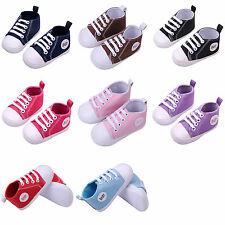 Comfortable Infant Toddler Sneaker Baby Boy Girl Soft Sole Crib Shoes 0-18Months