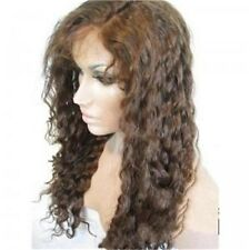 Queen hair Deep Wave Indian Remy human hair Full lace wig front wig 14-20 inches