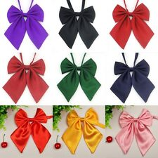 wholesale Fashion Unique Women Ladies Girls Satin Novelty BIG Bow Tie Wedding