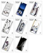 Ice Skating Blades Boots Hockey Stick Game Hard Case for iPod Touch 5 5th Gen