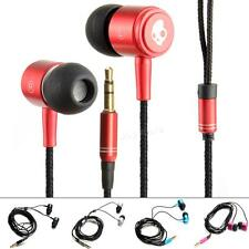 Universal Hi-Fi 3.5mm Jack Skull Stereo Mega Bass Music Headset Earphone JHRG