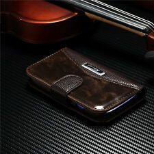 Luxury Leather Magnetic Flip Wallet Case Cover For Samsung Galaxy S3 Mini i8190