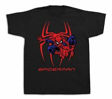 Spiderman mask superhero funny style tshirts comics best superio Graphic print