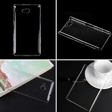 Transparent Crystal Clear Slim Hard Plastic Snap-on Case Cover for Mobile Phone