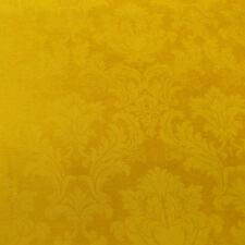 Marmalade Gold Damask Chenille Designer Curtain Fabric By Marvic Textiles £9.99m