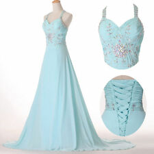 2014 Mint Beaded Evening/Pageant/Party/Cocktail/Prom dress/Ball gown/SZ 2 4 6 8