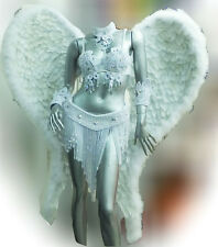 Da NeeNa B023S Parade Showgirl Victoria Secret Model Angel Wings Backpiece