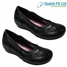 WOMENS SMART DRESS SHOES GIRLS SCHOOL FORMAL WEDDING LADIES WORK SHOES SIZES 3 4