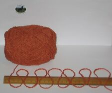 100g Burnt Orange Boucle 100% Pure Wool double knitting dk yarn Select Number:
