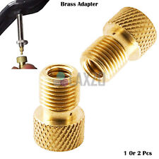 Bicycle Bike Schrader to Presta Valve Adaptor Converter Brass Bicycle  Air Pumps
