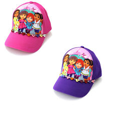 Dora and Friends Youth Girls Baseball Cap Hat DNS51763ST Pink Purple