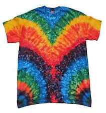 Tie Dye T-Shirts, Multi-Color Woodstock, S, M, L, XL, 2X, 3X, Gildan, 100%Cotton