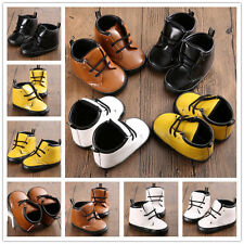 Classical Knot Baby ankle Boots boy girl toddler infant crib shoes 0-18 months