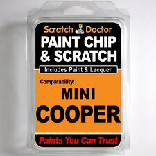 MINI COOPER TOUCH UP PAINT Stone Chip Scratch Car Repair Kit . 2012 - 2015