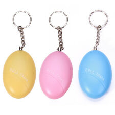 Mini Keychain Personal Guard Safety Security Annunciator Alarm Anti-robbery egg