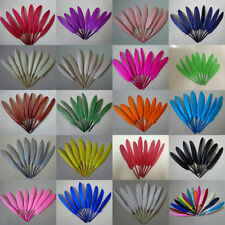 Free shipping! 50/200pcs beautiful goose feather decoration 4-6 inches 10-15 cm