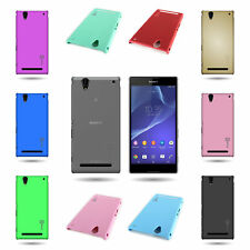 1pc Protective Slim Back Hard Shell Phone Cover Case for Sony Xperia T2 Ultra