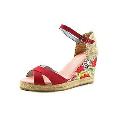 Desigual Alto 4 Womens Fabric Wedge Sandals Shoes