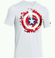 New Under Armour Men's Alter Ego Captain America Compression Shirt Choose Size