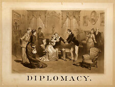Photo Print Vintage Poster: Stage Theatre Flyer Diplomacy 01