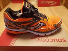 SAUCONY MEN'S PROGRID HURRICANE 16 RUNNING SHOE ORANGE  MEDIUM WIDTH NEW SIZE 14
