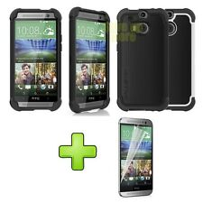 Ballistic Tough Jacket Series SG Rugged Case Cover For HTC One 2 M8 2014 New