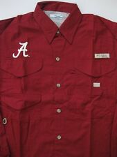 ALABAMA CRIMSON TIDE BONEHEAD LONG SLEEVE SHIRT COLUMBIA FISHING FISH PFG NEW