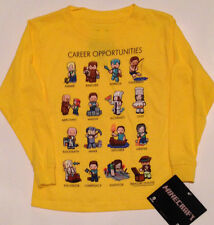 MINECRAFT Careeer Opportunities T- Shirt  Sizes Boys  4   5/6   7    Youth 6/8