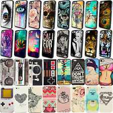 Phone Hard Skin Case Cover For IPhone 4 4S 5 5S 5C New Hot Cute Fashion Pattern