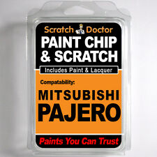 MITSUBISHI PAJERO TOUCH UP PAINT Stone Chip Scratch Car Repair Kit . 2000 - 2006